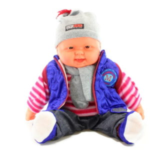 Miminko velké - kluk - modrá vesta