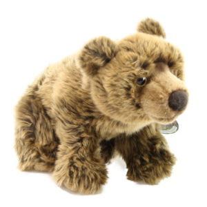 Plyš medvěd hnědý