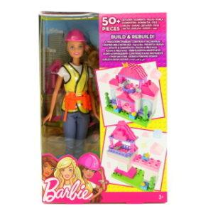 Barbie Stavitelka hrací set FCP76
