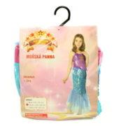 Šaty na karneval - Mořská panna, 120 - 130 cm