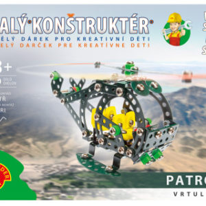 Malý konstruktér - PATROL VRTULNÍK 280 dílků