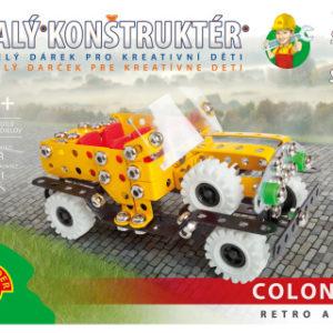 Malý konstruktér - COLONEL RETRO AUTO 296 dílků
