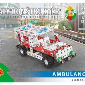 Malý konstruktér - SANITKA 329 dílků