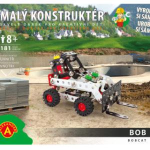 Malý konstruktér - BOBCAT 181 dílků