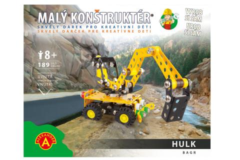 Malý konstruktér - HULK BAGR 189 dílků