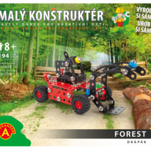 Malý konstruktér - DRAPÁK 194 dílků