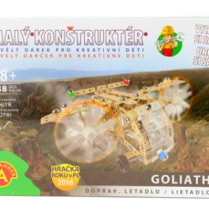 Malý konstruktér - GOLIATH DOPRAVNÍ LETADLO 288 dílků
