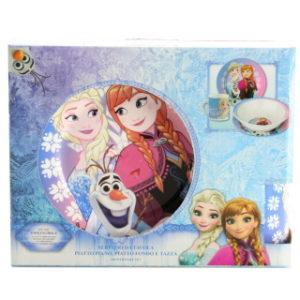 Keramický jídelní set Frozen