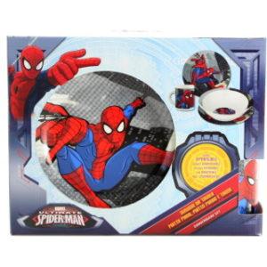 Keramický jídelní set Spiderman