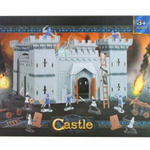 Sada hrad s rytíři