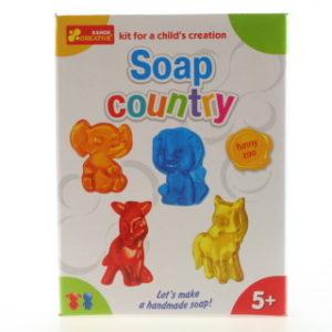 Výroba mýdla - zvířátka