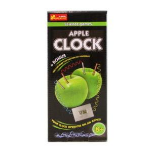 Vyrob si hodiny z jablka