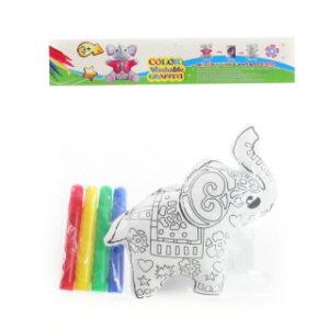 Malovací slon s ornamenty