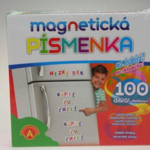 Magnetická písmenka-na lednici