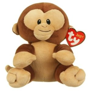 Baby TY BANANA 15 cm - opička