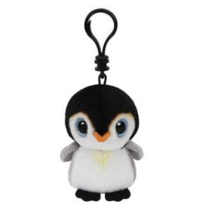 Beanie Boos PONGO clip 8,5 cm - tučňák