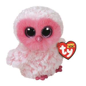 Beanie Boos TWIGGY 15 cm - růžová sova