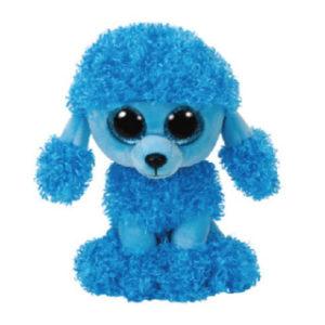 Beanie Boos MANDY 15 cm - modrý pudl