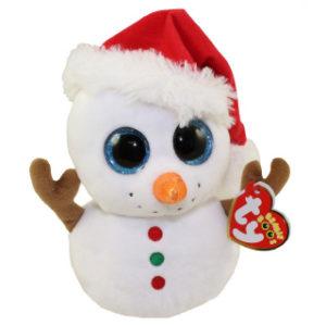 Beanie Boos SCOOP 15 cm - sněhulák