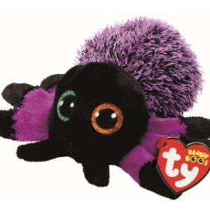 Beanie Boos CREEPER 15 cm - fialový pavouk