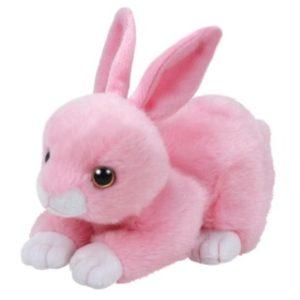 Beanie Boos WALKER 15 cm - růžový králík