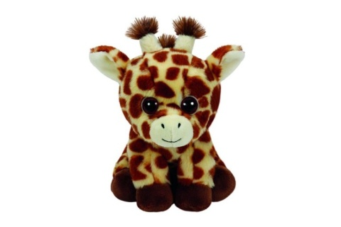 Beanie Boos PEACHES 15 cm - žirafa