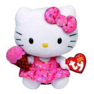 Beanie Babies HELLO KITTY 15 cm - zmrzlina