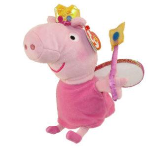 Beanie Babies PEPPA PIG 15 cm - princezna