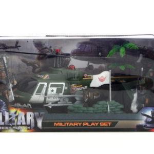 Vojenský vrtulník sada
