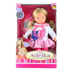 Panenka Adélka s pohádkou, 40 cm - TV reklama