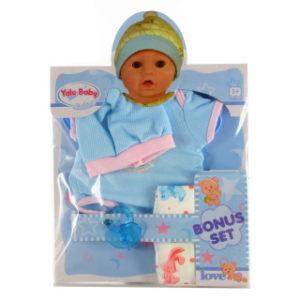 Oblečení pro panenku modré