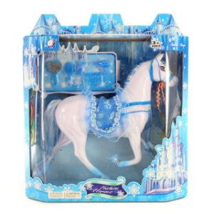 Kůň modrý česací