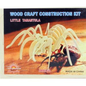 Puzzle dřevěné 3D Pavouk