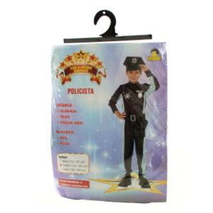 Šaty - Policista, 120 - 130 cm