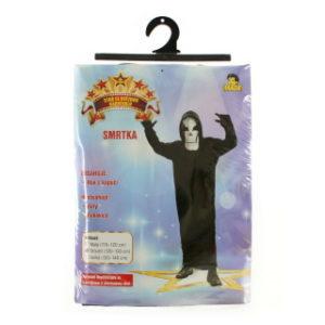 Šaty - Smrtka, 120 - 130 cm