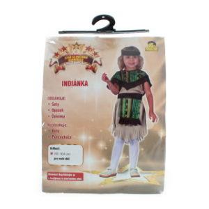 Šaty - Indiánka, 92 -104 cm