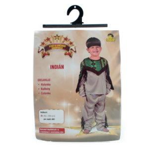 Šaty - Indián, 92 - 104 cm