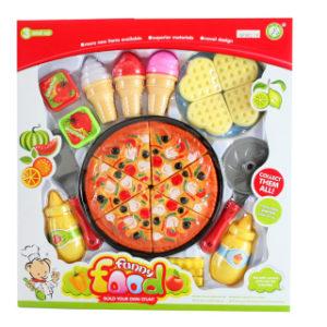Pizza a sladkosti
