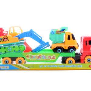 Šroubovací stavební stroje na kamionu