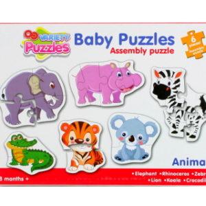 Puzzle pro nejmenší safari