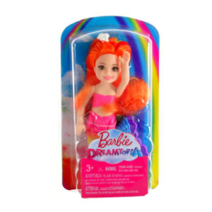Barbie Chelsea mořská panna FKN03