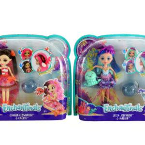 Enchantimals Vodní svět panenka a zvířátko FKV54