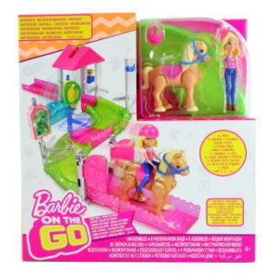 Barbie Mini závodiště herní set FHV66