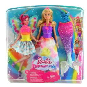 Barbie Víla a pohádkové oblečky FJD08