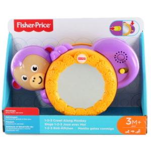 Fisher Price Kutálející se opička se zvuky FHF75