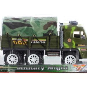 Vojenské auto s plachtou