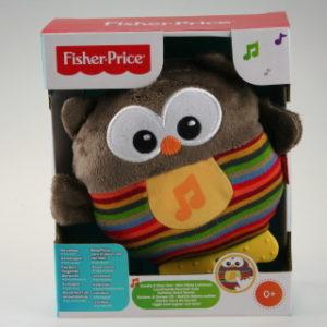 Fisher Price uspávací sovička CDN55