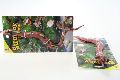 Had gumový na kartě