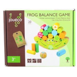 Dřevěná hra žabí rovnováha