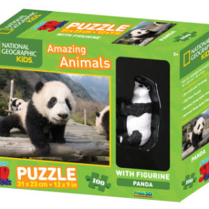 3D Puzzle Panda 100 dílků figurka
